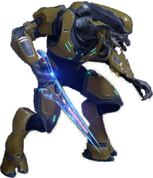 Halo Elite Face