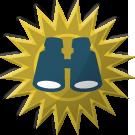 Expert medal from the Halo: Reach Clicktacular YouTube Masthead.