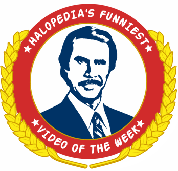 The Logo used for the Halopedia's Funniest Video of the Week award.