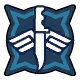 Halo 5: Guardians Airsassination Medal. Cleaned up white lines.