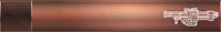 HTMCC Nameplate Bronze Rocket Launcher