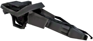 A render of the M6634 flamethrower from Halo Wars.