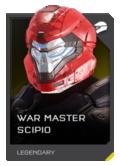H5G REQ Helmets War Master Scipio Legendary