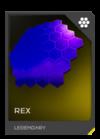 H5G REQ Visor Rex Legendary