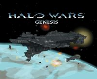 The cover of Halo Wars Genesis.