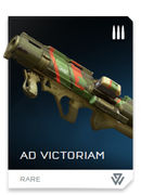 Ad Victoriam REQ card in Halo 5: Guardians