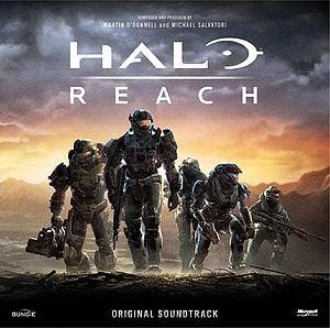 Halo: Reach Soundtrack cover art.