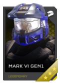 H5G REQ Helmets Mark VI GEN1 Legendary