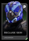 H5G REQ Helmets Recluse Seri Uncommon