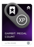 REQ Gambit Medal Count Ultra Rare