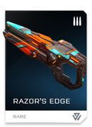 Razor's Edge REQ card in Halo 5: Guardians