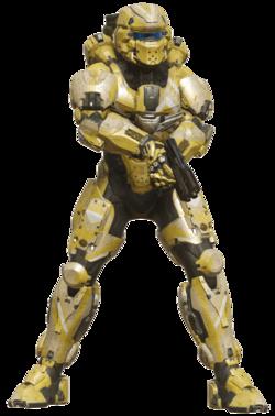 Warrior, the mainline version of the GEN2 suit.