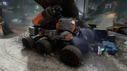 Screenshot of a Komodo on Meridian on the map Prospect.