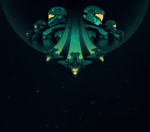 Season 00 banner from the Halo Infinite july flight.