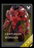 REQ card of the MJOLNIR Centurion Ironside armor.