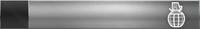 HTMCC Nameplate Silver Frag Grenade