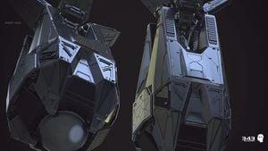 Drop pod model for Halo 2: Anniversary.
