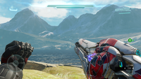 H5G FirstPerson T27BeamRifle-Krith'sLeftHand-Overheating.png