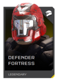 H5G REQ Helmets Defender Fortress Legendary