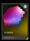 H5G REQ Visor Strife Legendary