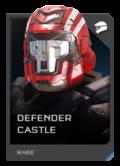 H5G REQ Helmets Defender Castle Rare
