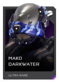 H5G REQ Helmets Mako Darkwater Ultra Rare