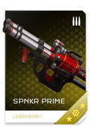SPNKR Prime REQ card in Halo 5: Guardians