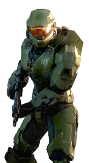 A render of John-117 from Halo Infinite.