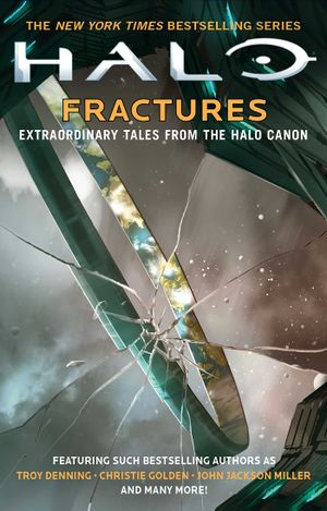 The cover of Halo: Fractures.