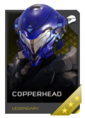 H5G REQ Helmets Copperhead Legendary