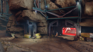 Halo 5 Warzone map - Temple.