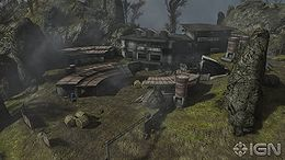 Overlook after the Halo: Reach Multiplayer Beta.