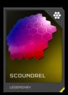 H5G REQ Visor Scoundrel Legendary