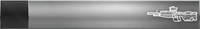 HTMCC Nameplate Silver DMR