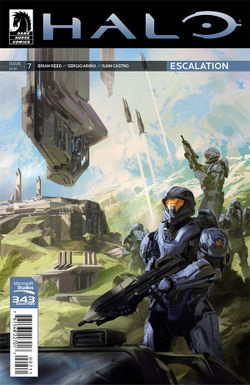 Halo Escalation #7 cover art.