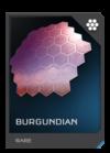 H5G REQ Visor Burgundian Rare