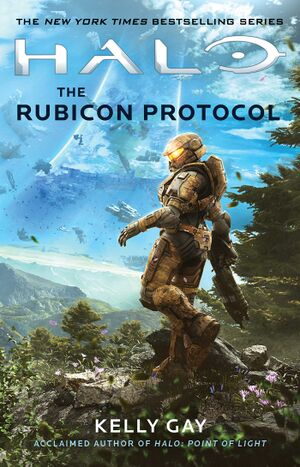 Front cover of Halo: The Rubicon Protocol.