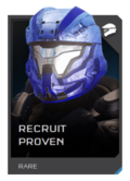 H5G REQ Helmets Recruit Proven Rare
