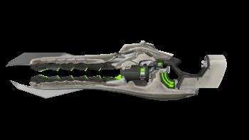 Custom render of the Bloodfuel Rifle