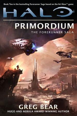The book cover of the Halo novel Halo: Primordium.