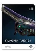 Plasma Turret REQ card in Halo 5: Guardians