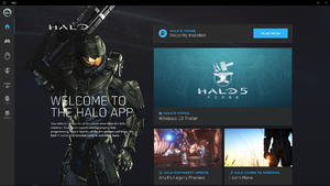 Windows 10 Halo app