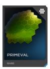 H5G REQ Visor Primeval Rare