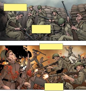 World War I as depicted in Undefeated. Cropped from source image originally provided by User:TheArb1ter117.