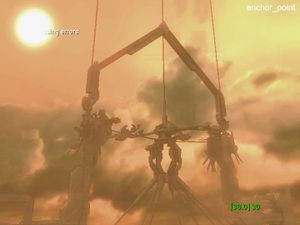 Image of the cut level Anchor Point from Halo 2, courtesy of Vic DeLeon here.