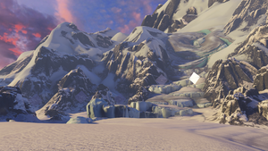 Halo 5:Guardians Forge canvas map.