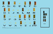 Rectangle Forerunner alphabet.png