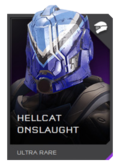 H5G REQ Helmets Hellcat Onslaught Ultra Rare