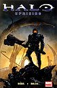 The cover of Halo: Uprising number 3