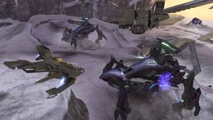 Two Scarabs in Halo 3
